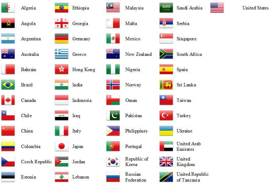Countries 10.9.14