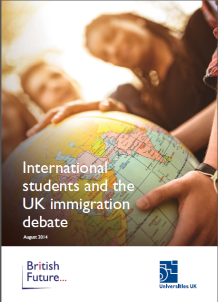 International Students in Contemporary Context Insight from the U.K.