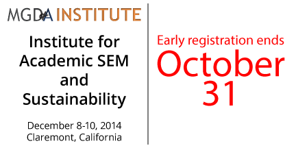 Institute for Academic Strategic Enrollment Management and Sustainability
