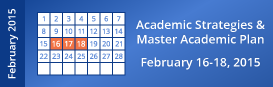Academic Strategies and Master Academic Planning