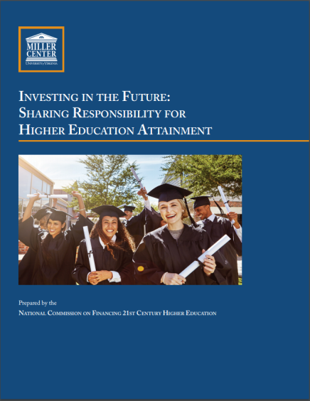 """Investing in the Future: Sharing Responsibility for Higher Education Attainment"" New Report"